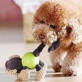 XDYFF Haustier Hund Plüsch Spielzeug Quietschen Spielzeug Dauerhafte interaktive Plüsch Welpen Spielzeug Pet Spielzeug Molaren Puppe Hunde Widerstand zu beißen Zähne Reinigung Pet Toys