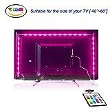 LedTVHintergrundbeleuchtung,2M USB Led Beleuchtung Hintergrundbeleuchtung Fernseher USB für40 bis 60 Zoll HDTV,TV-Bildschirm und PC-Monitor,Led Strip.