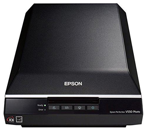 Epson Pefection V550 Photo Flachbettscanner (4800 dpi, USB 2.0)