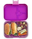 Yumbox Panino M Lunchbox - Mittelgroß, mit 4 Fächern   Brotdose mit Trennwand Einsatz   Brotbox für Kindergarten Kinder, Schule Sowie Arbeit