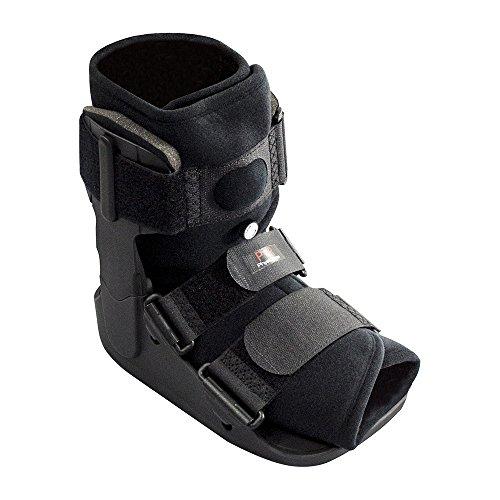 Physio Room Luftkissenschiene(Kurz) - Fuß-Bruch, Schiene, Stütze, Schutz, Verletzungen, Beschleunigte Erholung, Verstauchung, Bruch, Verringert Schwellung, Immobilisierung