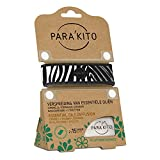 Para'kito Wristband/Armband für Erwachsene zum Verteilen von ätherischen Ölen, zebra