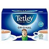Tetley Schwarzer Tee 240 Btl. 750g - Original englische Version