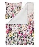 Estella Mako-Interlock-Jersey Bettwäsche Vera Lavendel 1 Bettbezug 135x200 cm + 1 Kissenbezug 80x80 cm