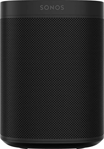 Sonos One SL All-In-One Smart Speaker, schwarz - Kraftvoller WLAN Lautsprecher mit App Steuerung & AirPlay 2 - Multiroom Speaker für unbegrenztes Musikstreaming