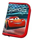 Undercover CAAD0440 - Schüleretui mit Stabilo Markenfüllung, Disney Pixar Cars 3, 30-teilig
