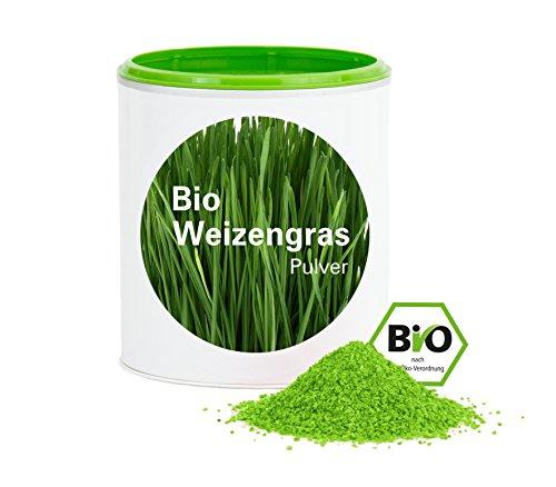 Weizengraspulver – XXL Dose 1000g|Bio-Weizengras aus deutschen Anbau |bio|vegan|glutenfrei|Rohkostqualität|Good Nutritions