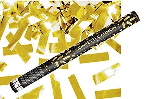 Konfetti Shooter 5 Stück Party Popper gold Folien Konfetti Kanone XXL 60 cm ! Hochzeit Event - von Haus der Herzen