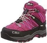 CMP Unisex-Kinder Rigel Mid Trekking- & Wanderstiefel, Pink (Geranio-Off White 10hc), 31 EU