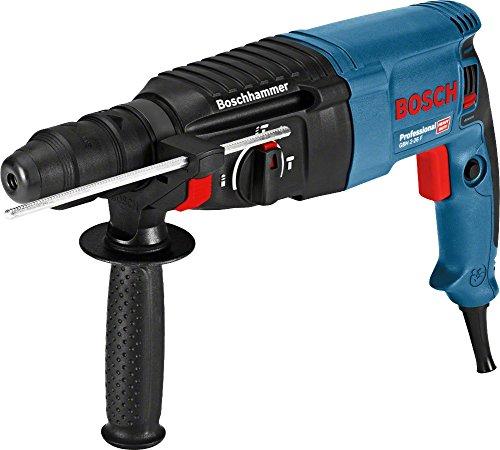 Bosch Professional Bohrhammer GBH 2-26 F (Wechselfutter SDS-plus, Schnellspannbohrfutter, L-BOXX, Schlagenergie: 2,7 J, Bohr-Ø in Beton: 68 mm, 830 Watt)
