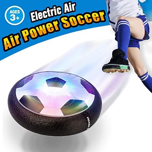 VIDEN Air Power Fußball, Indoor Fußball mit LED Beleuchtung, Fußball Geschenke Für Jungs Super Spaß beim Fußballspielen in Innenräumen, Geburtstag Geschenk Kinder Jungen Mädchen