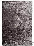 benuta Shaggy Hochflor Teppich Whisper Grau 140x200 cm | Langflor Teppich für Schlafzimmer und Wohnzimmer