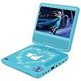 Lexibook - DVDP6FZ - Disney Frozen tragbarer DVD-Player - Himmelblau