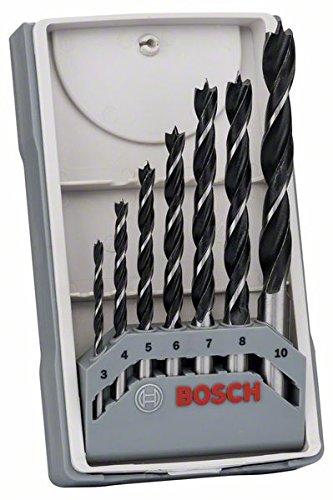 Bosch Pro 7tlg. Holzspiralbohrer-Set