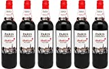 Paris Seduction - Rotwein Lieblich 2016 (6 x 0.75 l)