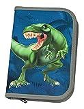 Schüleretui mit Stabilo Markenfüllung, Dinosaurier