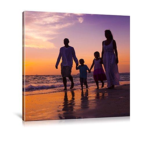 Ihr Foto auf Leinwand Online Sofort Vorschau Ihr eigenes Bild auf Leinwand mit Keilrahmen - Wandbild mitWunschmotiv - Persönliches Kunstdruck