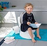 TOY-LET - Kindertoilette - Töpfchen-Trainer für Kindern mit einem realistischen Toilettendesign für Erwachsenen