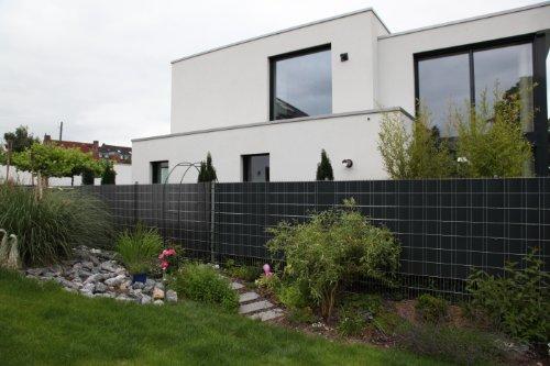 Sichtschutz SIGMA für Doppelstabmatten 26 lfdm in anthrazit, 'Made in Germany'