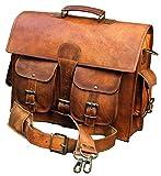 Classydesigns Vintage Style Genuine Buffalo Leather Shoulder Bag