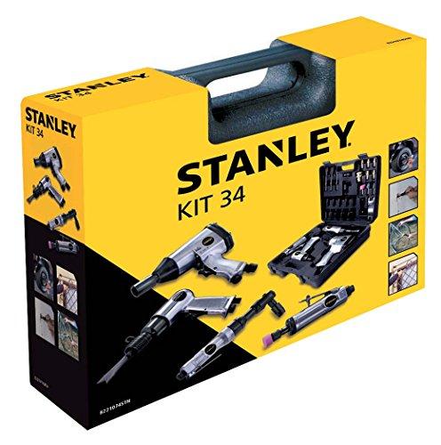 Stanley Zubehör für Luftkompressoren Airtoolkit, 34 Stück, 8221074STN