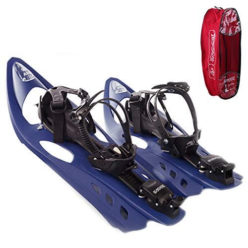 Inook Schneeschuhe Allround AXM mit Steighilfe und Ratschenbindung, Schuhgröße EU 36-47