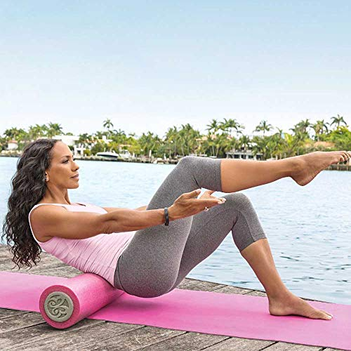 Barbara Becker Fitness-Set Fitness DVD | Miami Fit | Faszienrolle | Foamrolle | Yogamatte | Tasche | Farbe pink