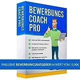 Bewerbungscoach Pro Bewerbungssoftware - Schritt für Schritt zur perfekten Bewerbung - Vollständige Bewerbungsmappe erstellen mit Deckblatt, Anschreiben, Lebenslauf und Motivationsschreiben