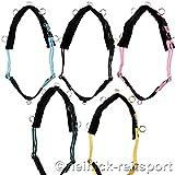 Heinick-Reitsport Longiergurt Shetty Minishetty mit 13 Ringen in 5 Farben (Shetty, Gelb)