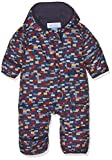 Columbia Snuggly Bunny Bunting Kinder Schneeanzug, Collegiate Navy Blocks, 3/6 Monate, SN0219