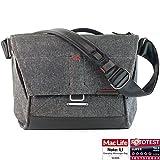 Peak Design Everyday Messenger Bag 13 V2 Charcoal - Fototasche für 1 DSLR-Kamera, 1-2 Objektive, 1 13'-Notebook, 1 Stativ und Zubehör (dunkelgrau)