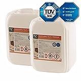 20 L Bio Ethanol Premium 96,6% (2 x 10 L) für Kamin - versandkostenfrei - in zwei handlichen 10 L Kanistern - TÜV SÜD zertifiziert