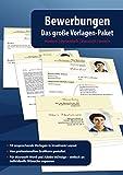 Bewerbungen - Das große Vorlagen Paket - modern - dynamisch, klassisch, kreativ - Komplett mit Deckblatt, Anschreiben, Lebenslauf und Anlagen