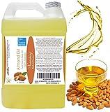 Mandelöl 100 % Natürlich 1000 ml  Ideales Hautpflege-Öl für alle Hauttypen  Besonders bei empfindlicher, sensibler Haut und für die Baby-Pflege. Ideal als Basisöl zur Herstellung von Massage