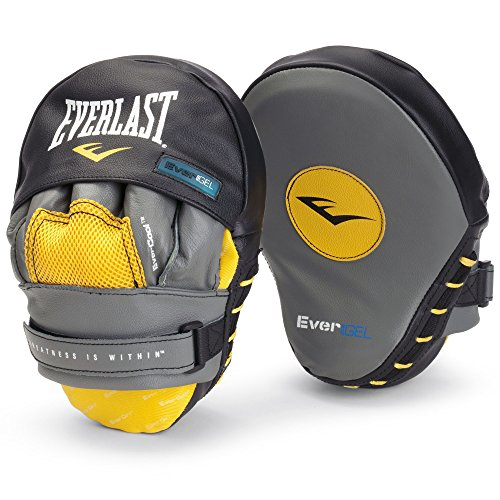 Everlast Jab Pads Evergel Mantis Hook, Grau
