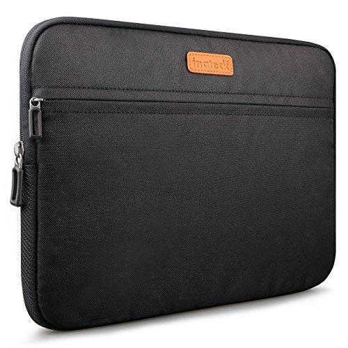 Inateck Hülle Sleeve Tasche für 35,8 cm (14 Zoll) Laptop / Notebook/ Ultrabook /Netbook und neue 2016 MacBook Pro 15 Zoll mit Touch Bar, Schwarz