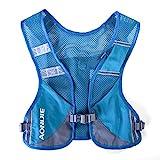 AONIJIE Ultraleicht Trinkrucksack Laufen Marathon Rucksack Getränketasche (Blau)