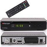 Opticum AX SBOX Plus HD HDTV digitaler Satelliten-Receiver (DVB-S2, SAT, HDMI, SCART, USB 2.0, Hello, Easyfind, SCR Unicable, 1080p) [vorprogrammiert für Astra Hotbird] Aufnahme & Timeshift - schwarz