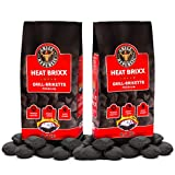 Grill Republic Heat Brixx - Premium Holzkohle Grill-Briketts | 17kg