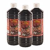 6 L Grillanzünder (6 x 1 L) - VERSANDKOSTENFREI - in sechs handlichen 1 L Flaschen