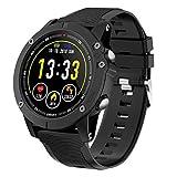 HolyHigh Bluetooth Smartwatch Fitness Tracker Sport Uhr Smart Watch mit IP68 Wasserdicht Herzfrequenz Blutdruckmessung Blutsauerstoff Monitor Schrittzähler mit iOS Android für Kinder Damen Herren
