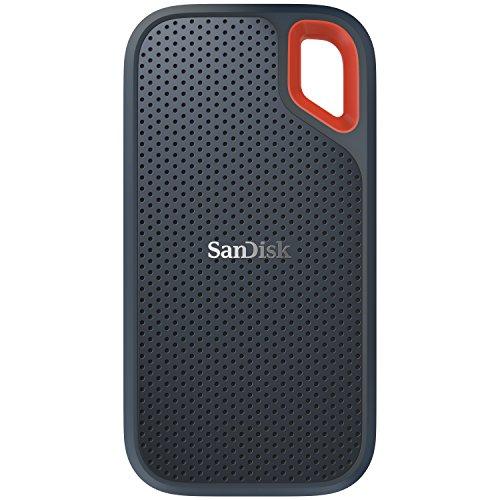 SanDisk Extreme Portable SSD 1TB (Externe SSD 2.5 Zoll, bis zu 550 MB/s Lesegeschwindigkeit, wasserdicht und staubdicht)