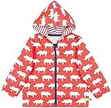 loud + proud Unisex Baby Jacke Wasserabweisende Outdoorjacke, aus Bio Baumwolle, Gots Zertiziziert, Rot (Cayenne Cay), 92 (Herstellergröße: 86/92)