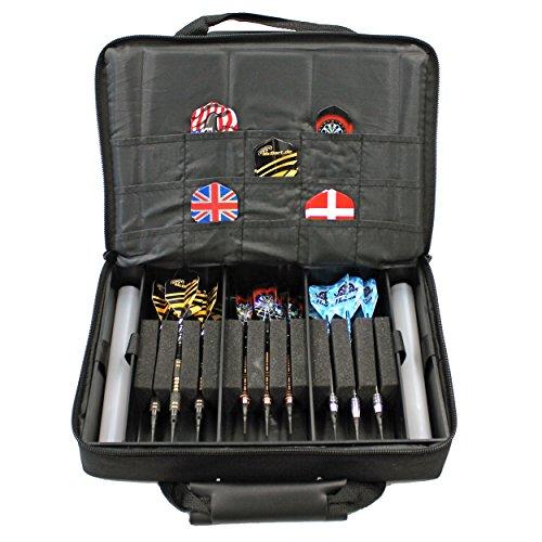McDart Master Tasche mit 9 Soft Dartpfeilen und Zubehör