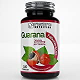Guarana 2000mg - 180 Tabletten - Die preiswerte Alternative