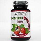 Guarana 2000mg - 180 Tabletten - Die preiswerte Alternative