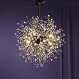 Klassischer Kronleuchter 8 Leuchten Antik Pendant Lampen Haus Decke Beleuchtung Leuchter Beleuchtungsvorrichtung,Durchmesser 23.5 Zoll