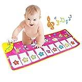 Musical Teppich, BELLESTYLE Baby Musical Piano Spielteppich Matte Musikinstrument Spielzeug Touch Spiel Keyboard Gym Play Mat für Kinder.