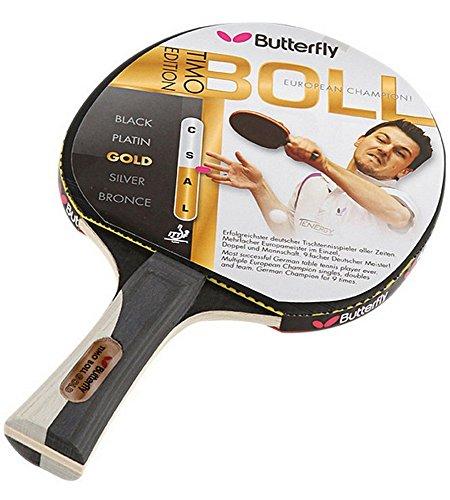Butterfly Tischtennisschläger Timo Boll Gold, schwarz-gold, 85020