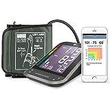 1byone Bluetooth Digitales Blutdruckmessgerät mit großem, leicht zu lesendem, hintergrundbeleuchteten LCD, Messgerät